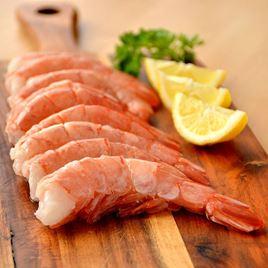 Obrázek  Krevety,  vel.16 - 20, neloupané, předvařené 500 g
