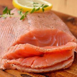 Obrázek Gravlax z divokého lososa kety  200 g