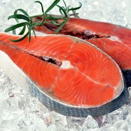 Obrázek Divoký losos keta steak -  2000 g