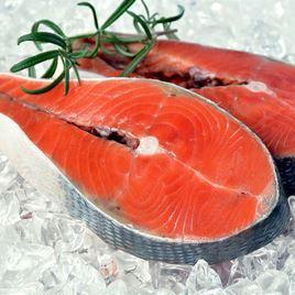 Obrázek Divoký losos keta steak -  1000 g