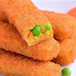 Obrázek Zeleninové prsty s mrkví a hráškem 300g