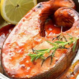 Obrázek Losos keta steak s hoisin marinádou cca 300g
