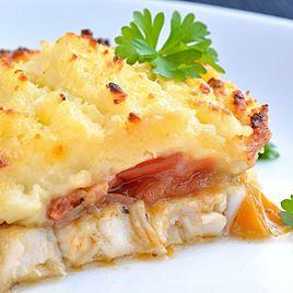 Obrázek Salsa pie - treska se salsou a bramborovou kaší 400 g