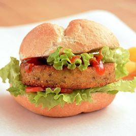 Obrázek Vegetariánský burger,ananas a quinoa 180g