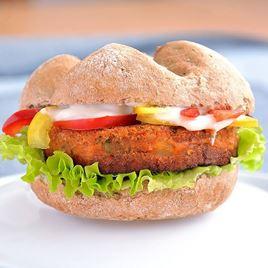 Obrázek Vegetariánský burger s paprikou 180g