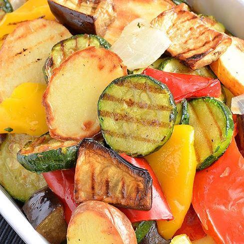 Obrázek z Grilovaná zelenina s brambory 2,5kg