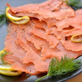 Obrázek Divoký losos uzený studeným kouřem 100g